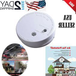 Smoke Detector Alarm-Battery-Operated Ionization Sensor Comp