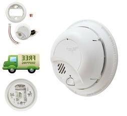First Alert Smoke Detector Alarm Fire Alarm Hardwired 85-Dec