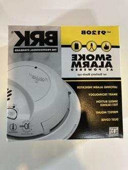 BRK Smoke Detector Alarms AC Powered w/Battery Backup 9120B