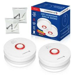 Siterwell Smoke Detector 9V Battery Operated Photoelectric S