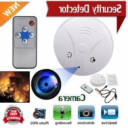 Smoke Detector Camera HD Spy Recorder Hidden Home Survillenc