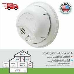 First Alert Smoke Detector Fire Alarm Sensor Escape Notifier