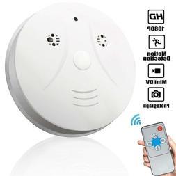 Smoke Detector Hidden Cameras 1080P Video Recorder Spy Camer