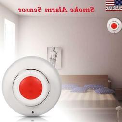 Smoke Fire Detector Alarm Sealed Battery Operated Home Secur