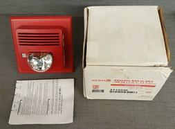 Potter SSS8-75110R Fire Alarm Speaker with Select-A-Strobe,