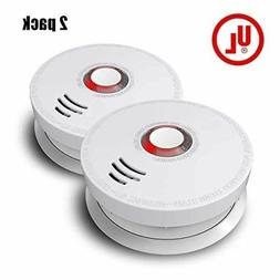 Top Quality Smoke Detector, Ardwolf 2 Pack Photo electric Sm