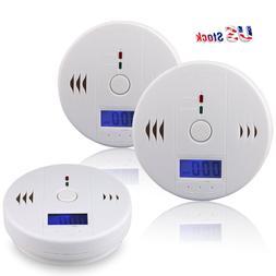 US Carbon Monoxide And CO Detector Combo Alarm Sound Gas Sen