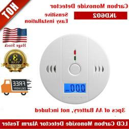 US Stock CO Smoke Sensor Warning Alarm Detector Tester For C