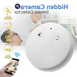 Wall Mount WiFi Camera Smoke Detector HD 1080P For IPhone An