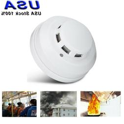 white wireless co co2 detector home security