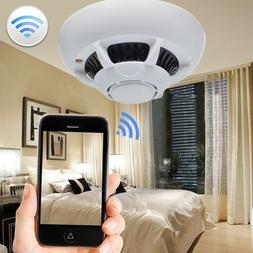 WiFi SPY IP Camera Hidden Smoke Detector Motion Detection Na
