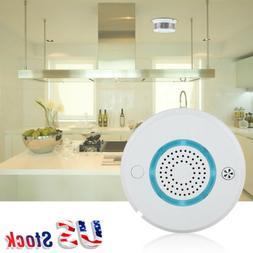 WIFI Voice Smart Smoke Alarm Temperature Sensor Home Securit