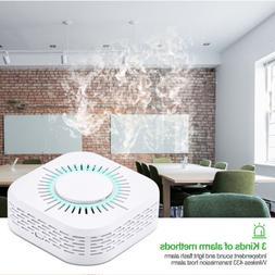 Wireless Fire Smoke Sensor Detector Alarm Battery Home Secur