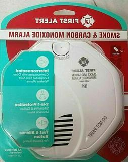 First Alert Wireless Smoke & Carbon Monoxide Alarm White