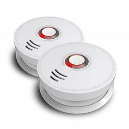 Photoelectric Smoke Detector, ARDWOLF 2 Pack Fire Alarm with