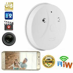 Wireless Wifi 1080P Mini Surveillance Camera Smoke Detector