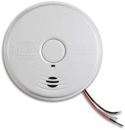 Worry-Free 120V Ac Wire-In Smoke Alarm W/Sealed Lithium Batt