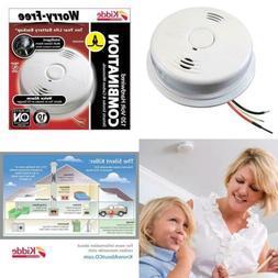 Worry Free Hardwire Smoke and Carbon Monoxide Combination De