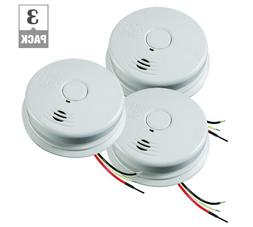 Worry Free Hardwire Smoke Detector Alarm, 10-Year Battery Ba