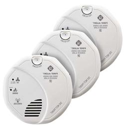 First Alert Z-Wave Smoke and Carbon Monoxide Alarm, 3-pack Z
